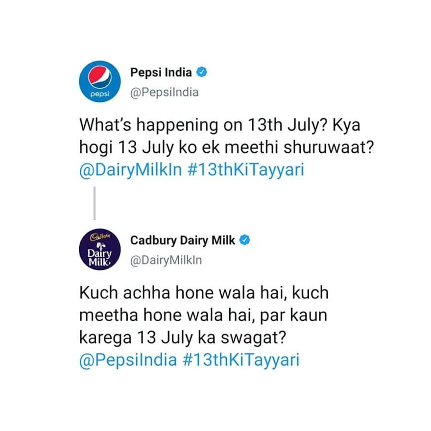#BrandMoments  Few days back Popular brands were having an interesting conversation. And we loved spotting it.   This engagement campaign led to announcement of fresh content on Zee Network  #indianmemes #trending #digitalmarketing #minimaldesign #digitalmarketer #topicalpostpic.twitter.com/VvOSlJSHoo