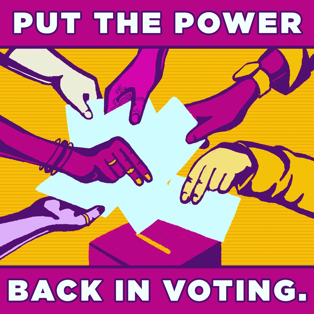 Put the power back in voting