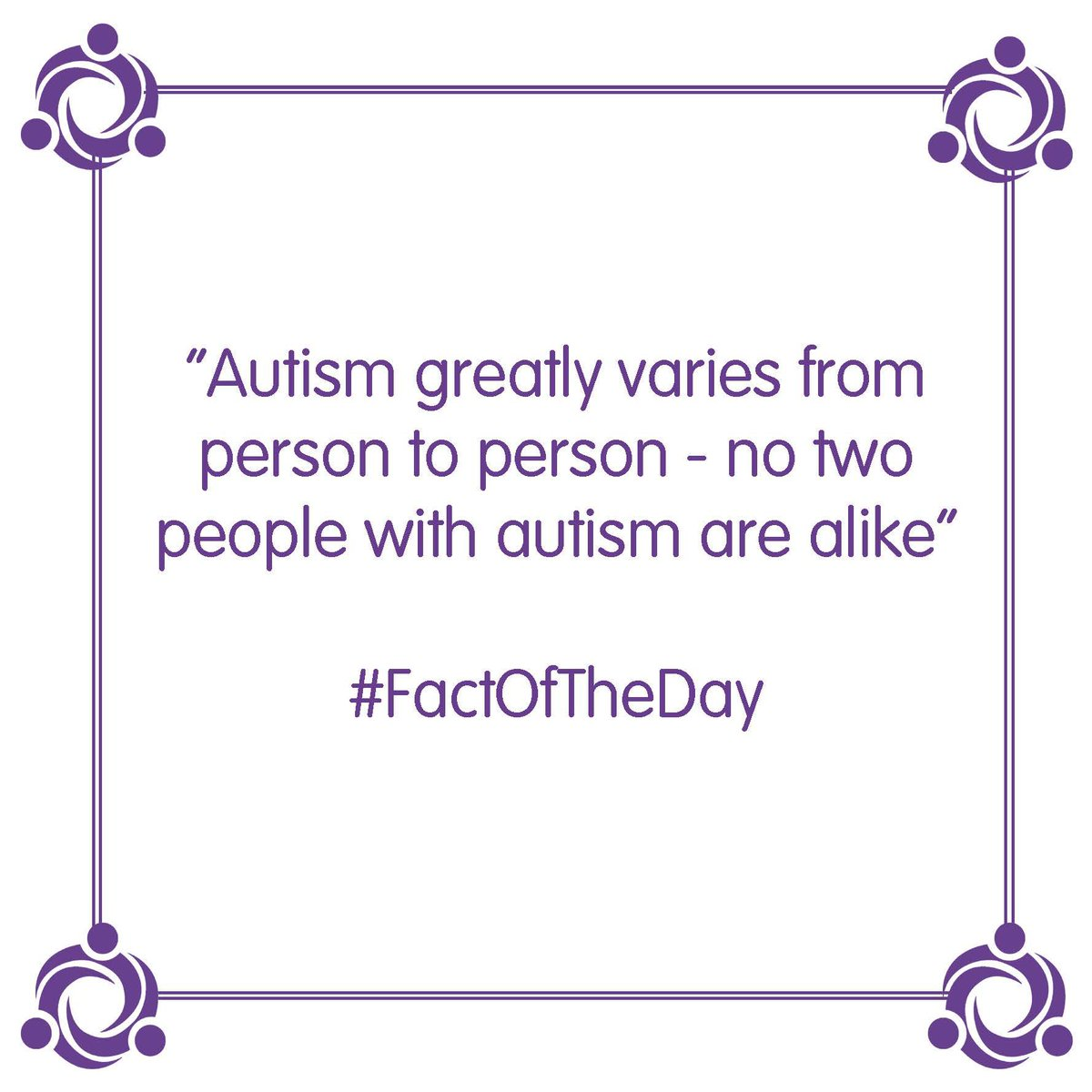 Fact Of The Day! #1stophealthcare #1team #fact #AutismAwareness #healthcare #care #support #jobs #permanent #humpday #wednesdaypic.twitter.com/j2lSQ3dccw
