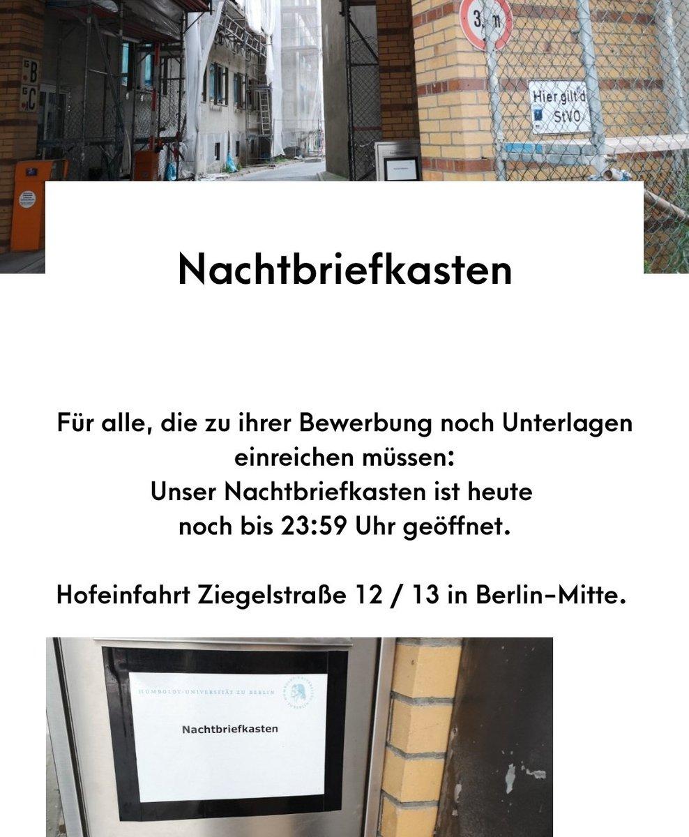Humboldt Universitat Zu Berlin On Twitter