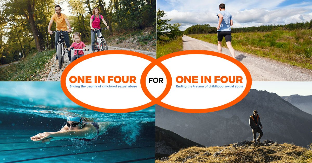 """To celebrate our amazing supporters we have created a new challenge that reflects who we are and who you are. ✨  One in Four for One in Four gives you the opportunity to choose any one of our 4 challenges and do """" One in Four"""" your way 🏃🏻♀️🏊🏼🚴🏼♂️ https://t.co/HWfMo97u61 https://t.co/H3q2i9Q6ct"""
