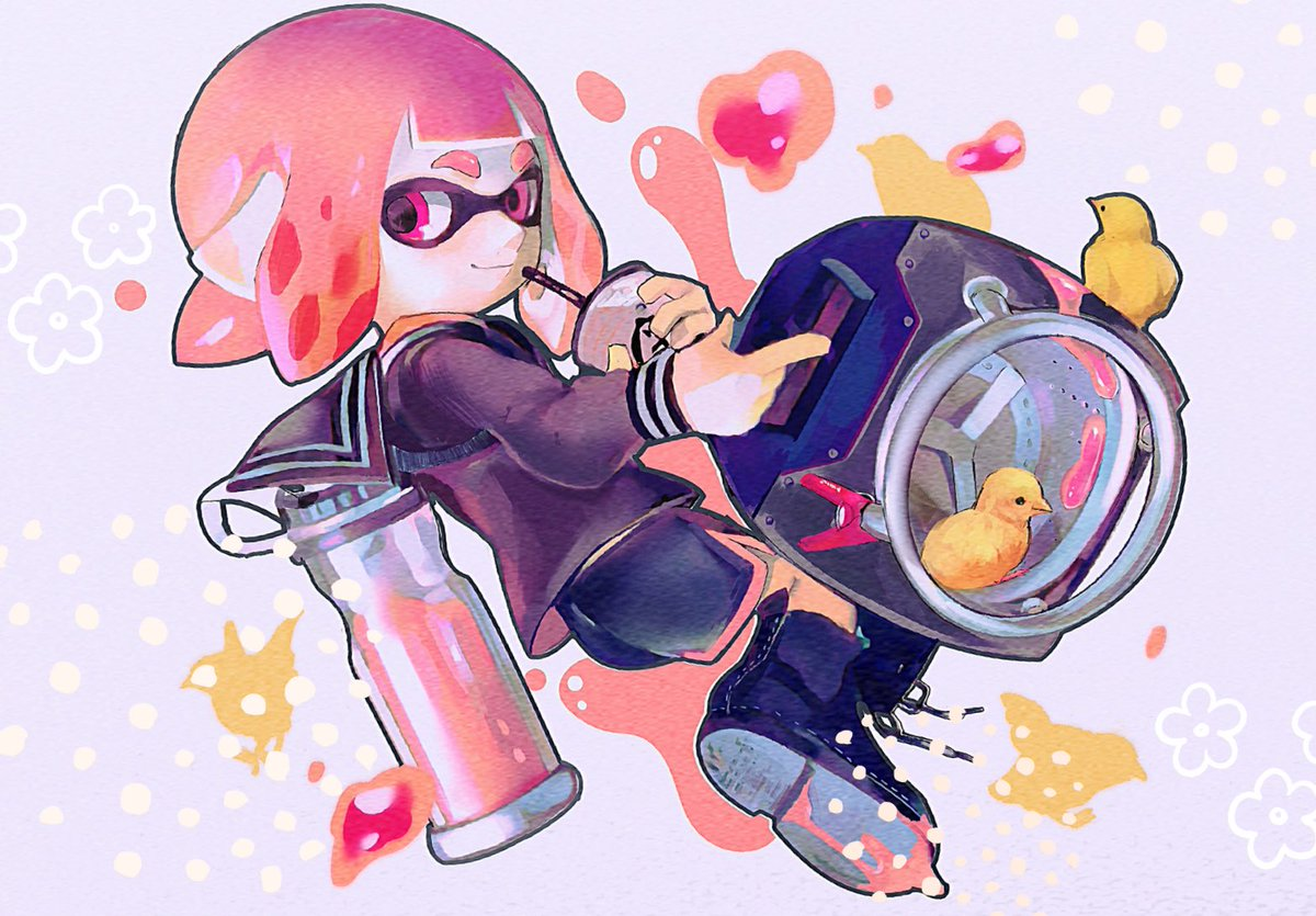 It's super strong and yet so adorable! #Splatoon2 <br>http://pic.twitter.com/XGQVrcVH7s