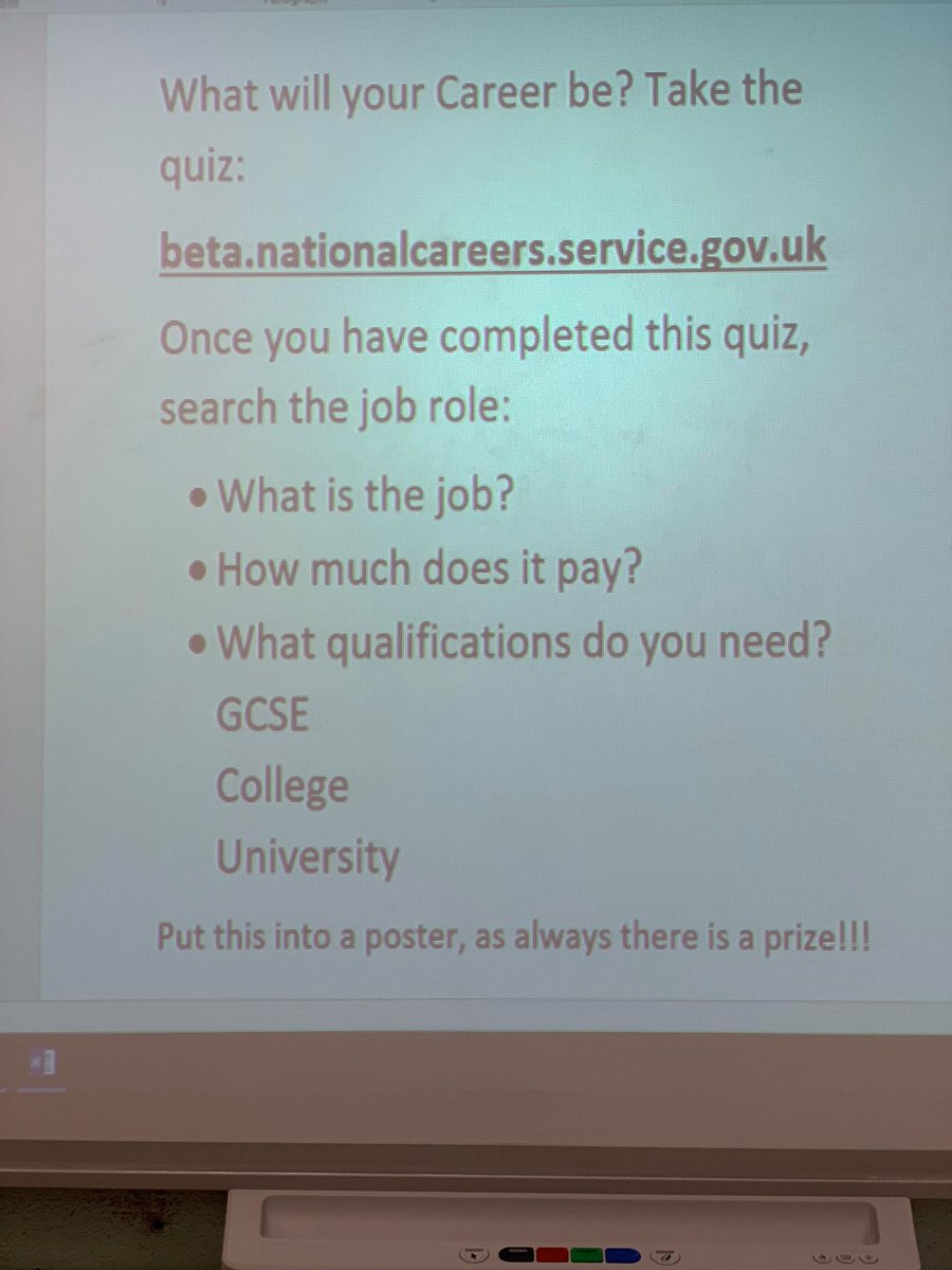 Students in for Key Worker school yesterday took part in an online #CareersWeek quiz which will help narrow down what they should be studying for the types of careers they want to aim for! https://t.co/I1poRd3oG4