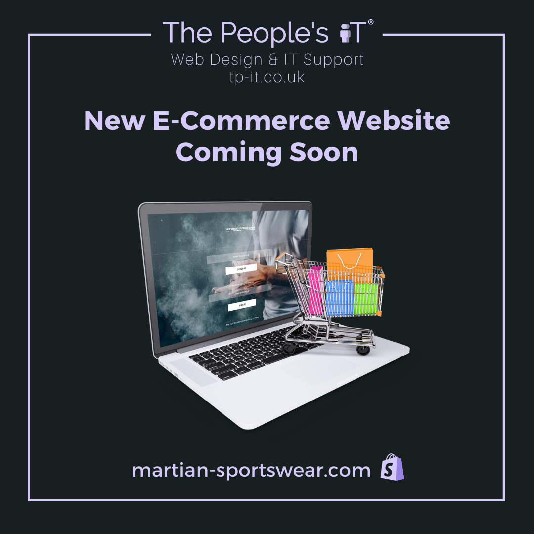 We're working with Martian Sportswear to build a new e-commerce website, http://martian-sportswear.com/   Contact us for web design https://tp-it.co.uk/  #ecommerce #shopifystore #shopifyseller #onlinebusiness #webdesign #wordpress #websitedesign #webdeveloper #webdesignerpic.twitter.com/FSmd2CElsc