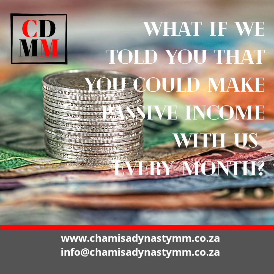 What if we told you that you can make passive income with us every month?  Yes, you can!  Our Partners Program is launching soon! #partnerprogram #partnership #passiveincome #extraincome #newsletter #website #digitalmedia #onlinemarketing #onlinebusiness #cdmm #chamisadynastymmpic.twitter.com/T9HNOctMjy