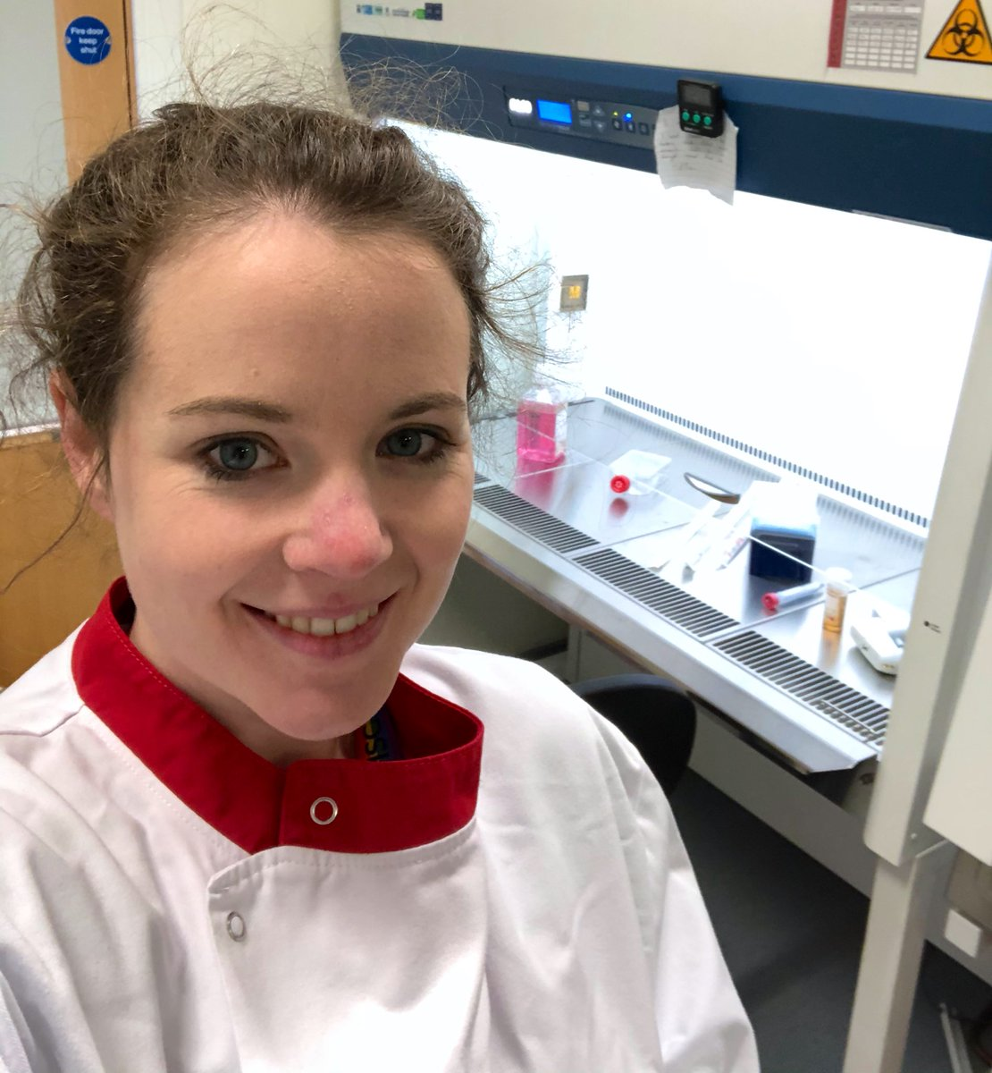 Your cells must be glad to see you Sarah! Welcome back to the lab :)