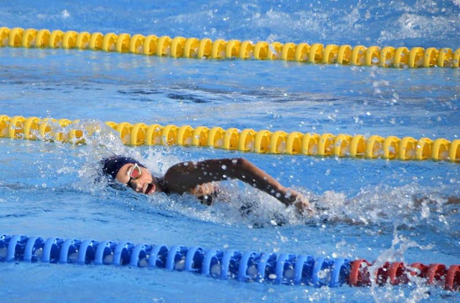La nostra nedadora infantil, Lucía González Nuez, ha rebut una beca @nataciocat per entrenar al @CARSantCugat durant la propera temporada 2020-2021, sota les ordres  de la FCN. Des del Club,e quip tècnic i companys, la volem felicitar i encoratjar! Felicitats Lucía!! 😘 https://t.co/ZHBRmXle4Z