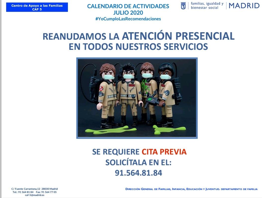 test Twitter Media - Reanudamos la atención presencial en el Centro de Apoyo a las Familias 5 #CAF5 con cita previa. Solicítala 👉🏽 ☎️ 915648184  📧 caf5@madrid.es   ℹ https://t.co/mk5I9FfcTi  @Lineamadrid @JMDmoratalaz @JMD_SanBlas @jmdvicalvaro @MadridIgualdad @abd_ong @RedesAprome @Espacio_EMMA https://t.co/8f1qcAQK4O