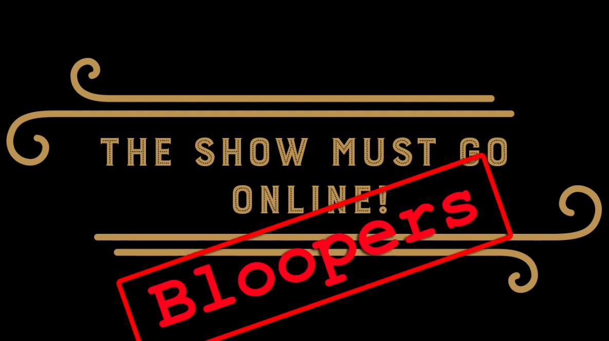 Who else loves a blooper reel?! https://t.co/in3mqQXTTg  #theshowmustgoonline #bloopers #outtakes #theatre #theatreonline @amdramcouk @amdramcommunity @DramaGroups @NODASouthWest @CirenScene @CirenBathurstF @CoriniumRadio https://t.co/T5i8rTK9CK