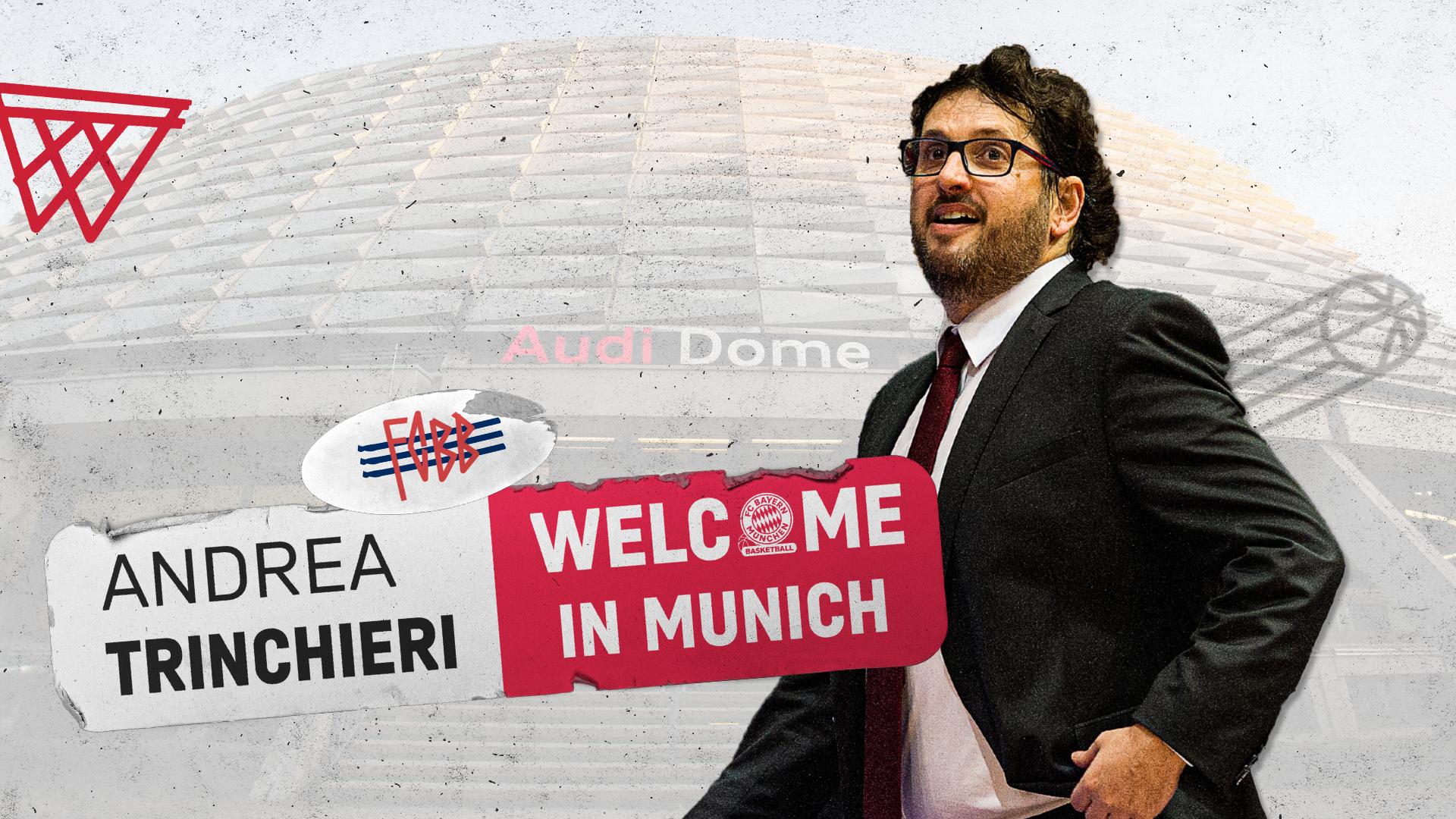 Ufficiale: Andrea Trinchieri è il nuovo allenatore del Bayern Monaco