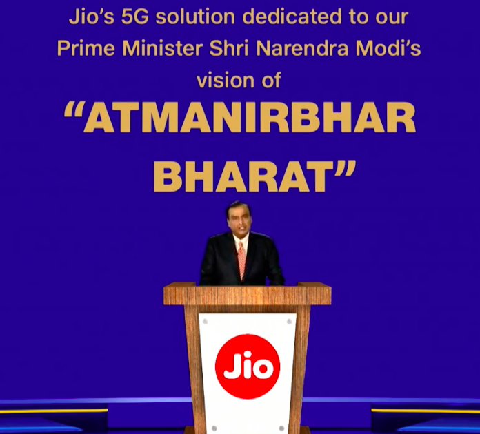 Mukesh Ambani dedicates Made in India 5G to PM Modi's Atmanirbhar Bharat vision