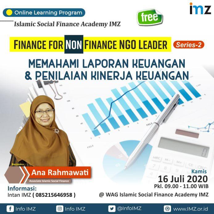 "Kuliah Whatsapp 🔥 *FREE* 🔥  Finance for Non Finance NGO Leader ""Memahami Laporan Keuangan & Penilaian Kinerja Keuangan""  Bersama: Ana Rahmawati Associate Islamic Social Finance  🗓️ Kamis, 16 Juli 2020 ⏰ Pukul 09.00-11.00 WIB  👉🏻 Registrasi: https://t.co/a5vk0ZbAGu https://t.co/lM1cGcs9ki"