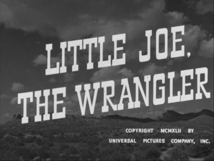 LITTLE JOE, THE WRANGLER (Universal, 1942) Johnny Mack Brown, Tex Ritter, Fuzzy Knight, dir. Lewis D. Collins Thurs. 7/16 5:05 AM ET on #StarzEncoreWesterns #JohnnyMackBrown #TexRitter https://t.co/iget9QZEX0