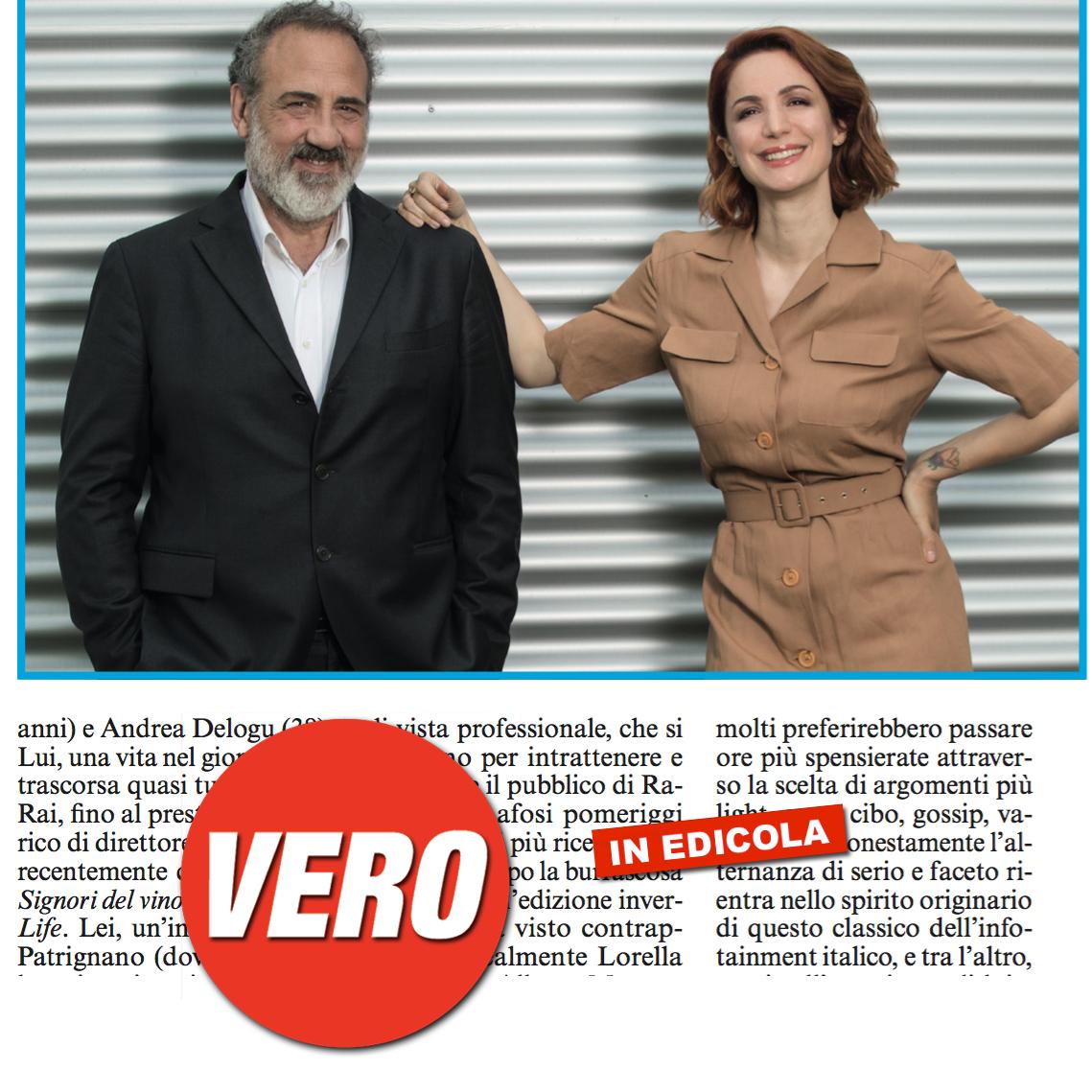 #Teleracconto di #ClaudioGuerrini con #AndreaDelogu e #MarcelloMasi, la strana coppia 📺😍 - #televisione #televisioneitaliana #tv #anteprima #magazine