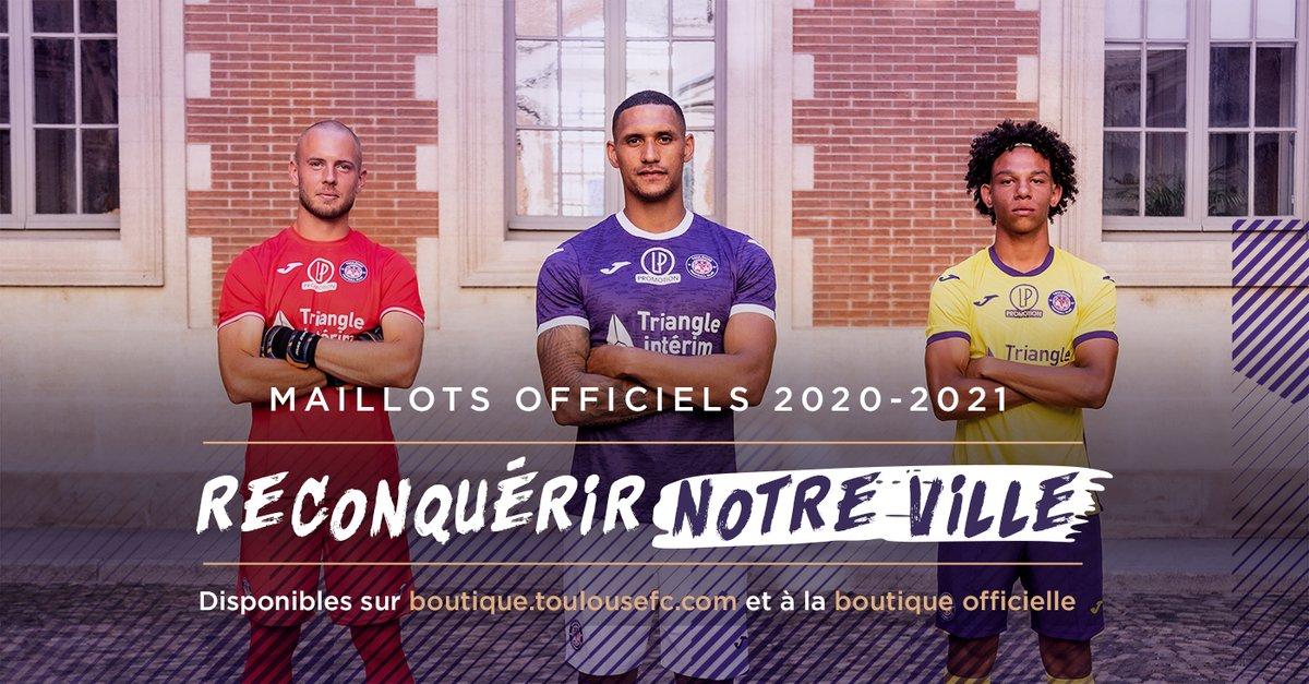 Nouveaux maillots de Toulouse