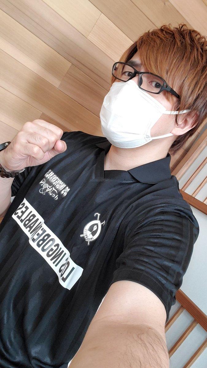 ロスインゴのサッカーシャツだ!!