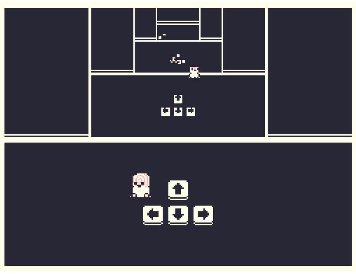【ニュース】プレイヤーが操作するキャラクターにキャラクターを操作させ、キャラクターにキーを操作させるゲーム『Press Ctrl』にて無料公開中
