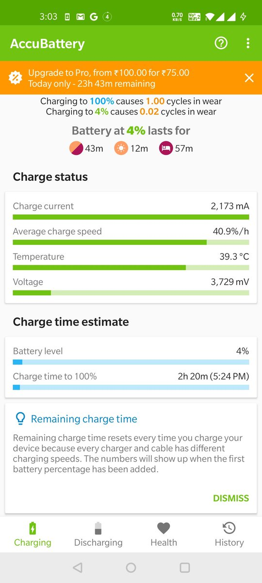 OnePlus 8 review  It takes 2 hours 20 mins to charge.  Warp charge waste of money.  Price has increased but quality has decreased pic.twitter.com/FidmGOFfI7