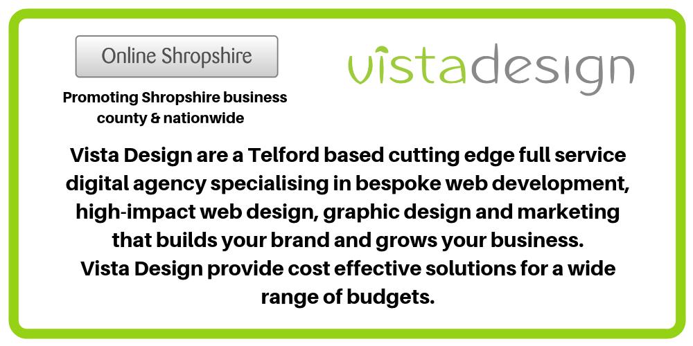 http://vistadesign.co.uk  @vista_design Go to http://onlineshropshire.co.uk  Search Vista Design pic.twitter.com/2gXDB3et2U