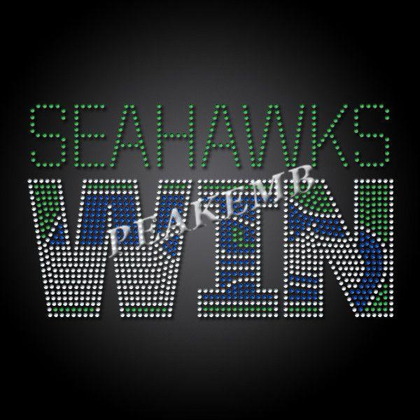 Custom Seahawks Win Letter Rhinestone Transfer Design on Tshirt - PEAKEMB https://buff.ly/3fvFcMdpic.twitter.com/3T6CJ1NcMR