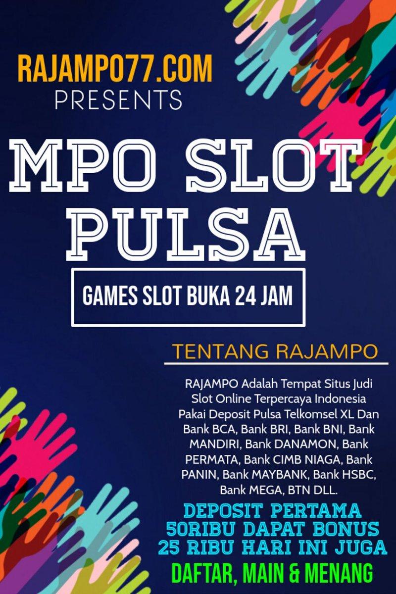 Situs Mpo Situs Slot Online Situs Rajampo Slot Situsmpo טוויטר