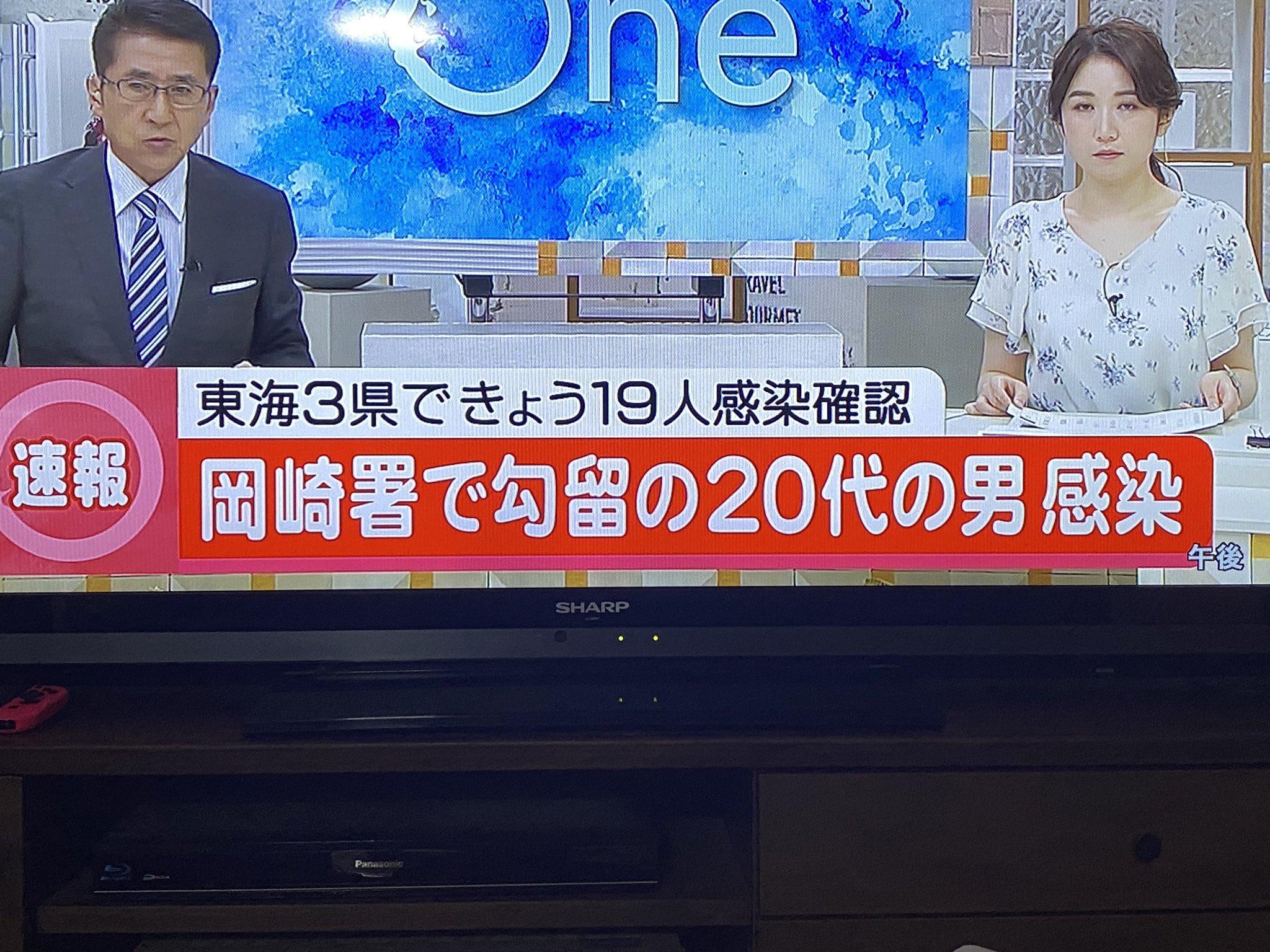 へずまりゅうが岡崎署で新型コロナウイルスに感染したニュースの画像
