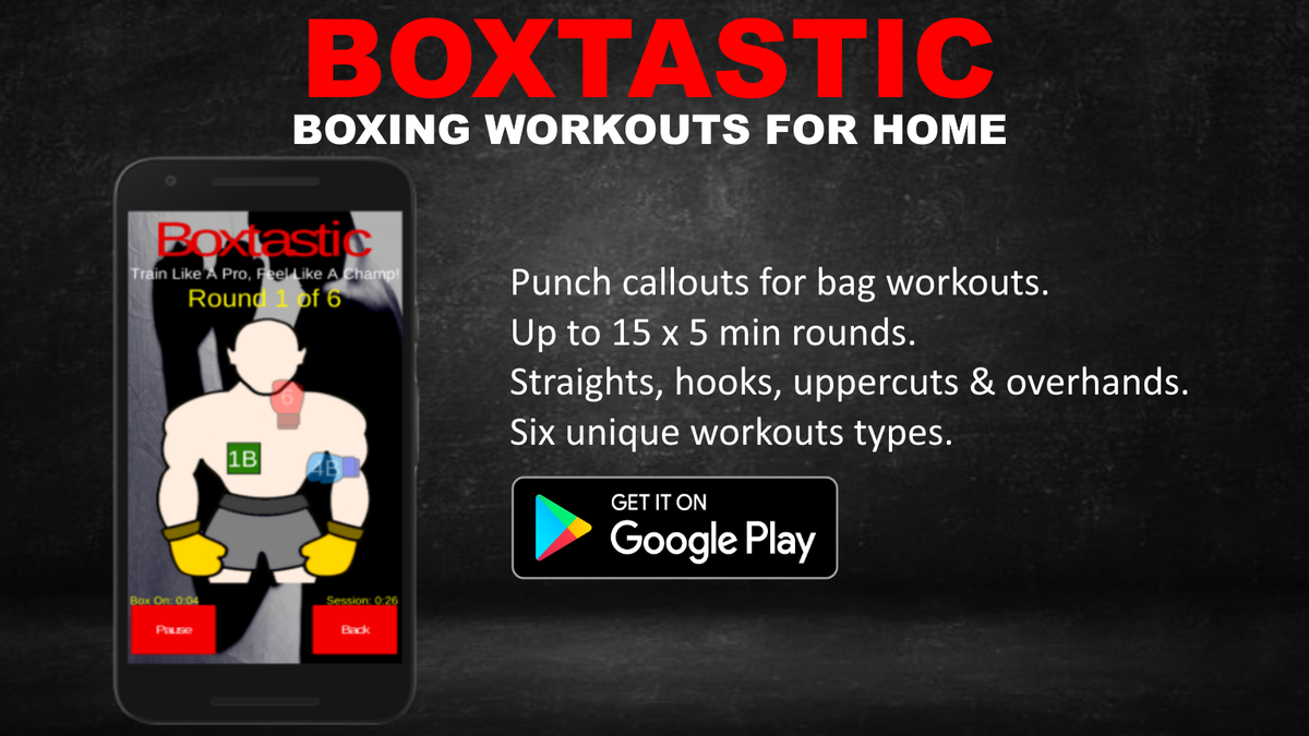 Free to try: The punching app to get you stronger, faster, fitter...  Play Store: https://t.co/BR2Onxs1aU  #boxtastic #boxingbag #heavybagworkout #heavybagtraining #heavybag #punchingbagworkout #boxingtraining #Covid_19 #CheckChangeGo #harvey #under10kgang #MondayMotivation https://t.co/ls85sY9gHo
