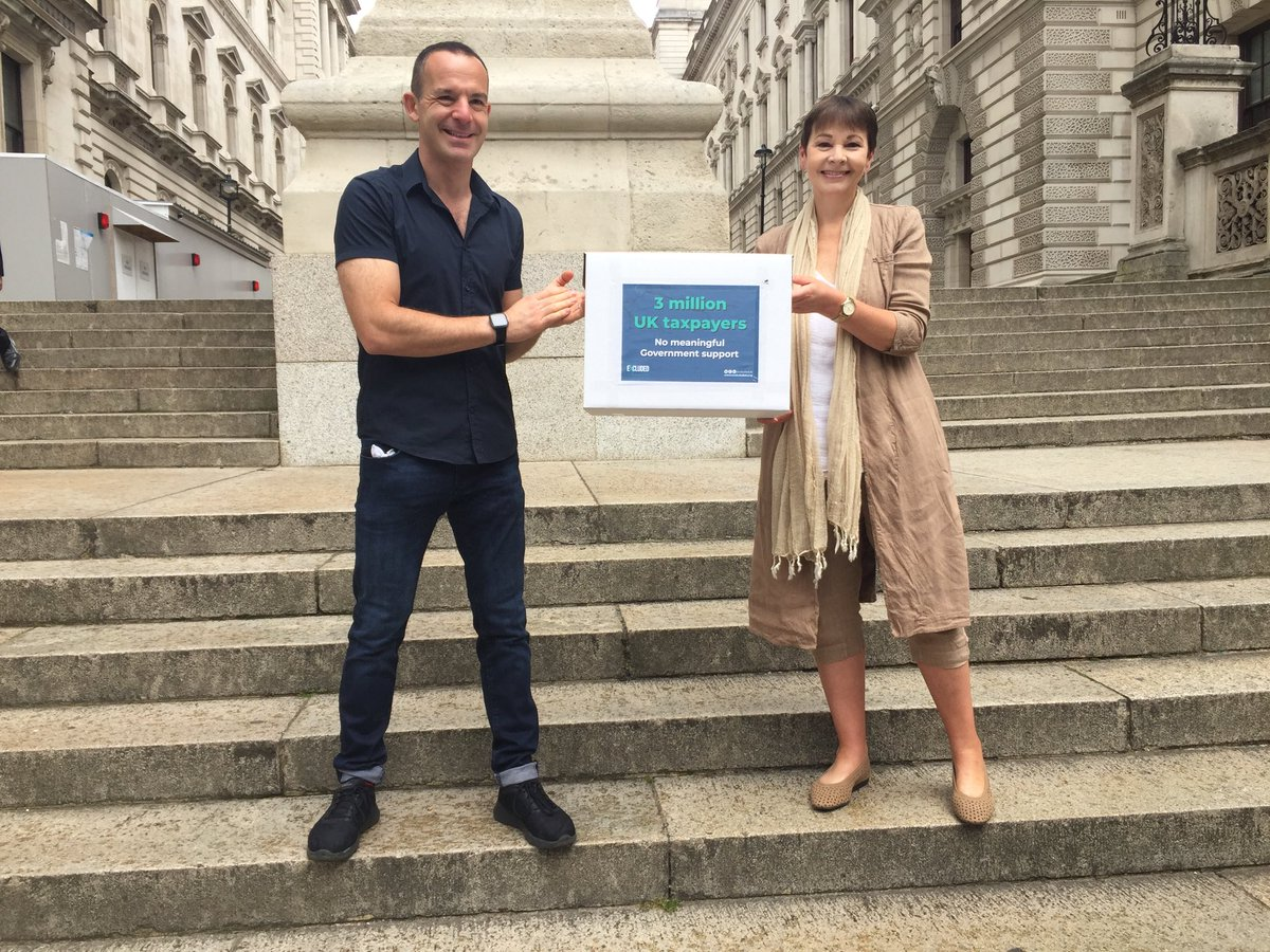 Thank you to @ MartinSLewis for showing his support for the millions who've been abandoned because of gaps Chancellor's self-employed support scheme  @ExcludedUK https://t.co/eEkpGyvvHA