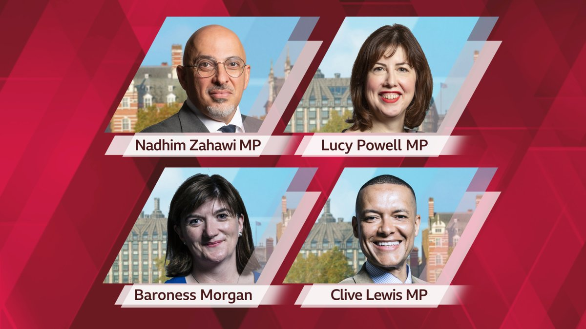Coming up on Wednesday's #PoliticsLive:   Nadhim Zahawi MP, Lucy Powell MP, Baroness Morgan, Clive Lewis MP, Pippa Crerar, Chris Hope  📺 BBC Two 1115-1300 https://t.co/v8gTLTnaDn https://t.co/9QW8gFbQue