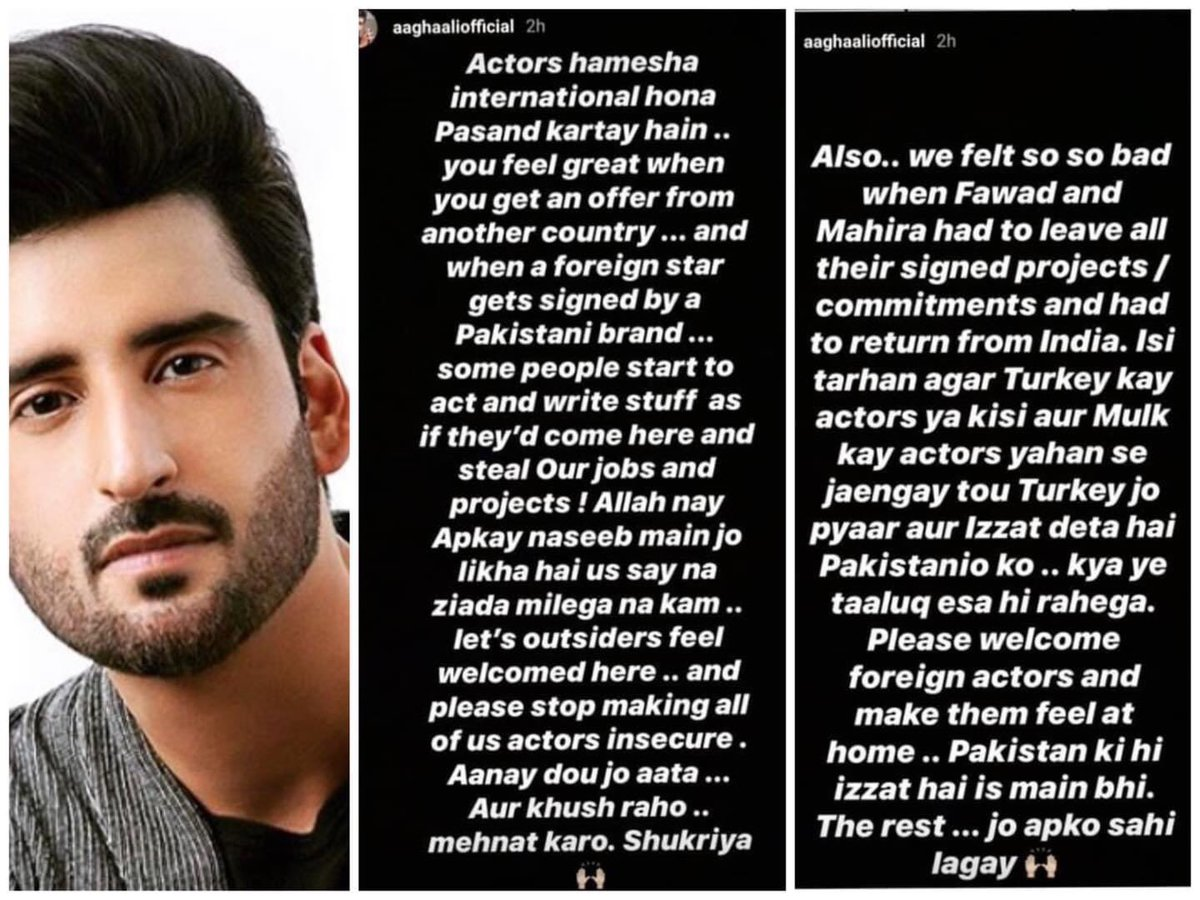 #AaghaAli on making #Turkish actors brand ambassador for Pakistani brands. #ReviewTurbinepic.twitter.com/xJbe5afc7Y