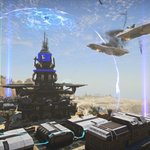 Image for the Tweet beginning: 👾Free online multiplayer shooter PlanetSide