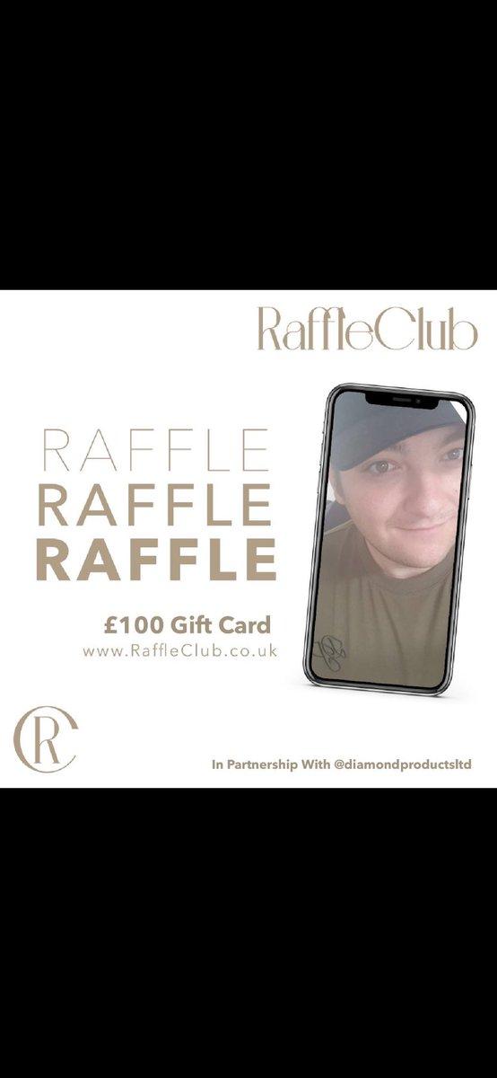 Checkout our very own @DanielMcleodIG as the face of Diamond Clothing  enter the raffle at http://www.raffleclub.co.uk using discount code KEZZA20 @RaffleClubUK @LuckySevenPR #raffle #win #beaplayer #BrandAmbassador pic.twitter.com/aWZwMw4XEJ