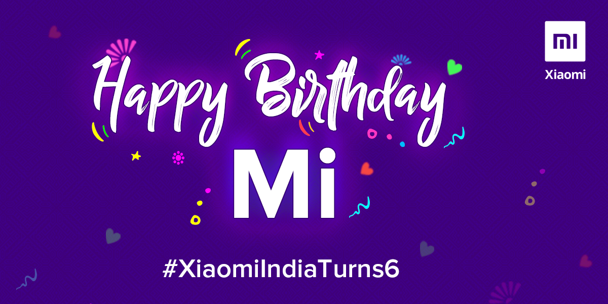Hey hey Mi fans, it's 𝐉𝐮𝐥𝐲 𝟏𝟓𝐭𝐡.  Guess whose BirthDay🎂🎉 it is.😉  We will be celebrating with some giveaways in an hour. Stay tuned...  #XiaomiIndiaTurns6 https://t.co/OJ4Uqp5TkD