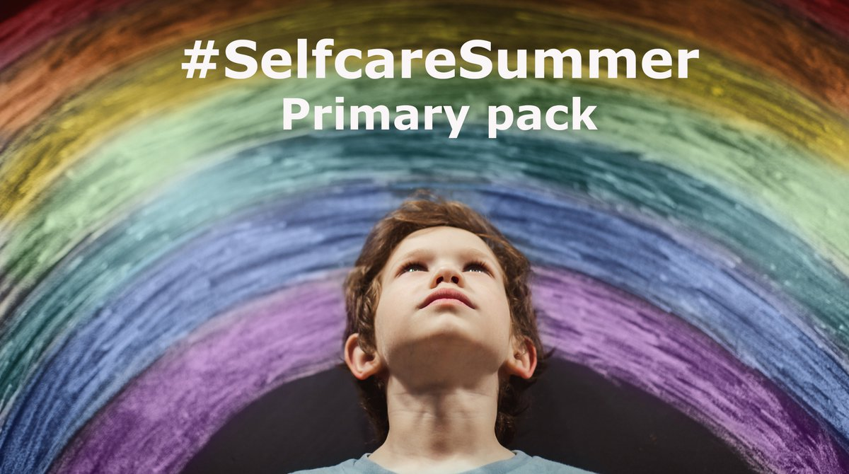 Our #SelfcareSummer Primary Pack is full of fun activities designed to help children look after their #mentalhealth & #wellbeing over the summer holidays. It also signposts them & their families to additional support if they need it. Download now👉bit.ly/2C8JIlx