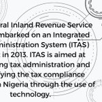 Image for the Tweet beginning: The Integrated Tax Administration System
