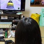 Image for the Tweet beginning: 血は争えぬらしい...  #SEGA #ドリームキャスト #クレイジータクシー2 #実機