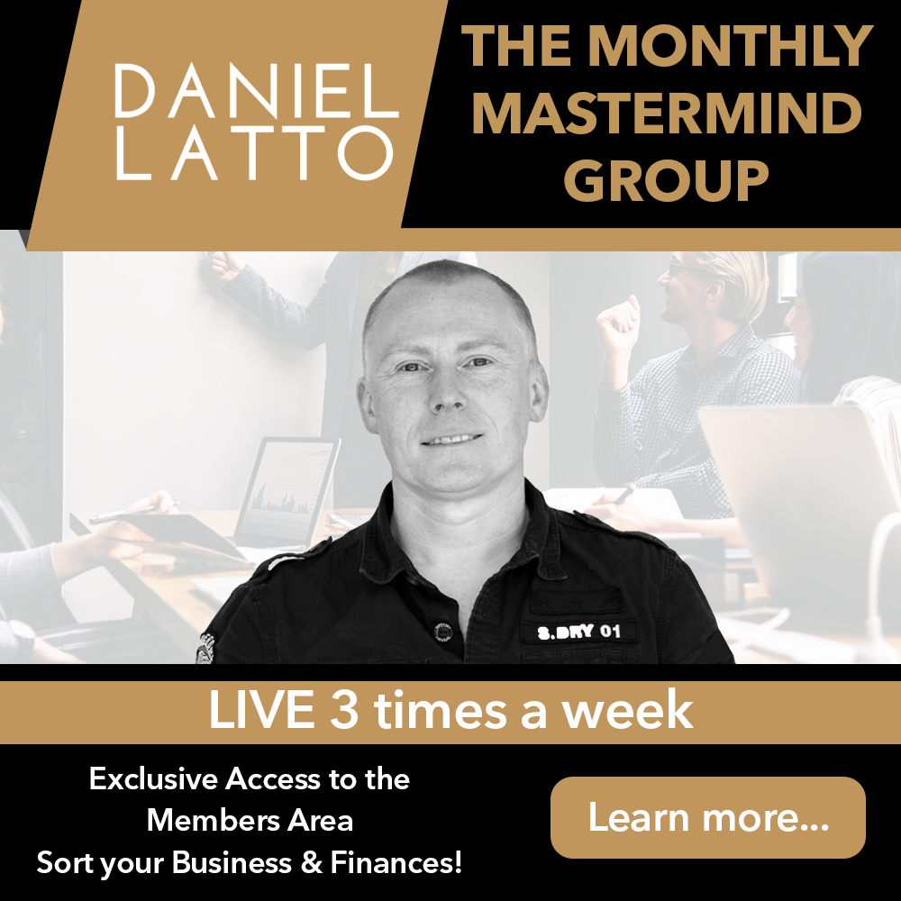 Join the LIVE Mastermind Group FREE with 3 LIVE sessions every week !  Exclusive Mastermind Group:   Learn how to increase your income with cashflow strategies & better time management.  Get started!  #daniellatto #mastermind #businesscoaching #success ... http://www.daniellatto.co.uk/mastermindpic.twitter.com/bu7w5Py8rn