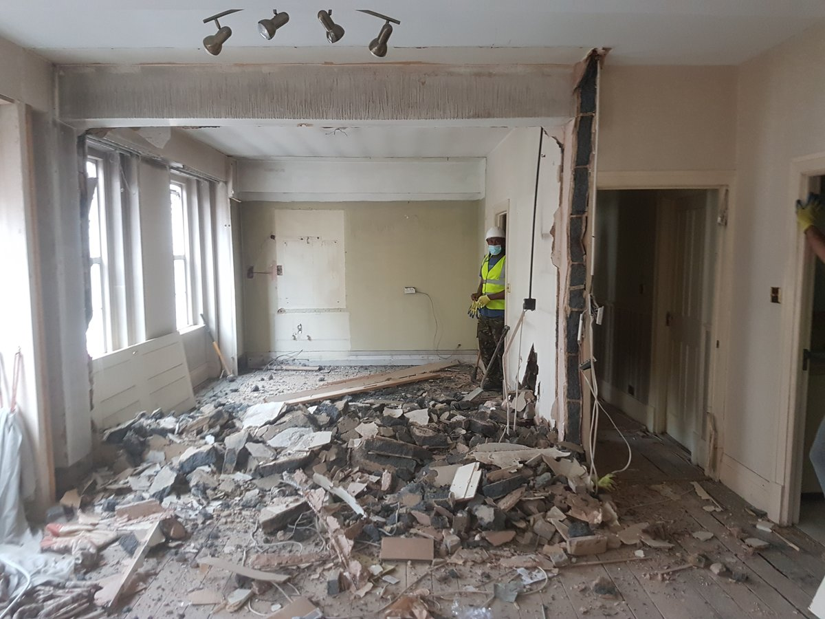 Starting a new project in Marylebone area in London. We are currently on demolition phase on site, while liaising this flat with the contractors and designers to achieve an amazing outcome. #refurbishment #flats #residential #architecture #Architect pic.twitter.com/uaqxGYcyQg