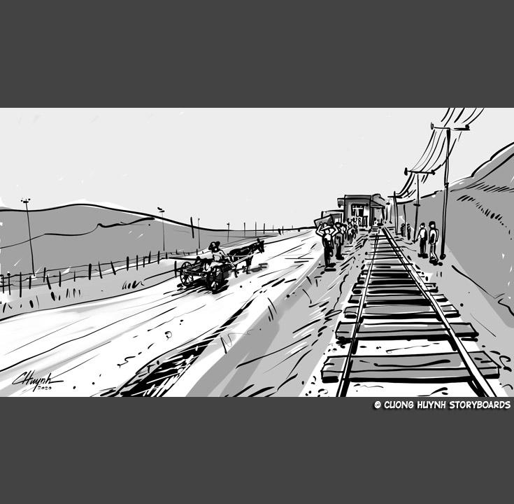 Old rail station sequence. #moviescenes #makingmovie #makingfilm #moviemaking #storyboard #artist #storyboarding #storyboards #drawing #drawings #films #filmdirector #director #filmcrew #filmmaking #filmmaker #preproduction #conceptart #filmproduction #illustrator #illustrationpic.twitter.com/QkllGHwlCO