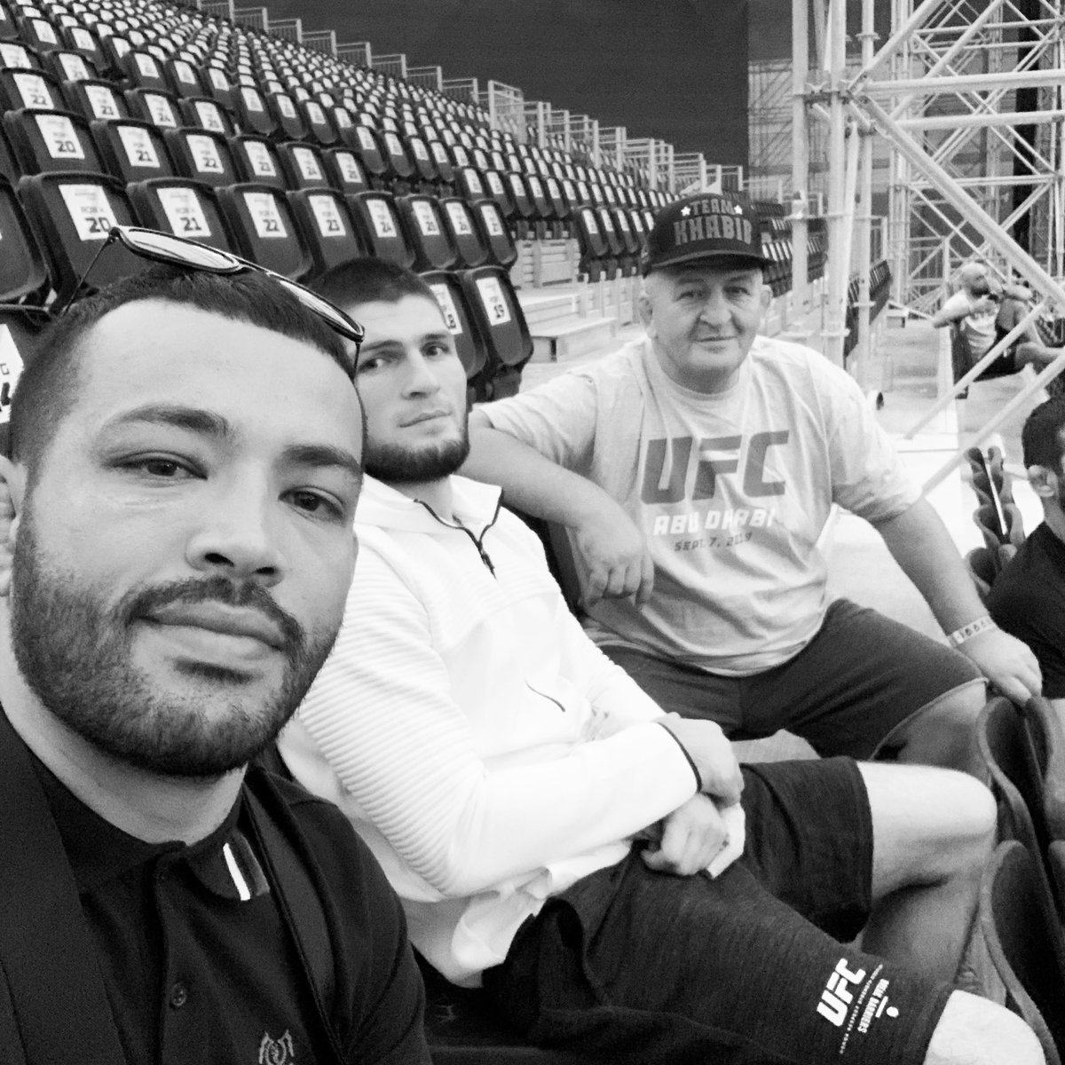 My heart is incredibly saddened by the news this morning of the passing of Abdulmanap Nurmagomedov. The bond Khabib and his father had was unconditional. Now he is resting peacefully in heaven with the almighty. May god be with you and your family @TeamKhabib https://t.co/w7HbT1bjIt
