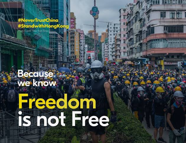 #FridaysForFreedom #FreeHongKong   Thank you everyone who stood up for #HongKong. HK is facing the biggest humanitarian crisis, it's deteriorating so quickly no one can predict what'll happen next. Still, we'll never surrender, so please #StandwithHongKong and #FightForFreedom. https://t.co/GUVR6CAhDa