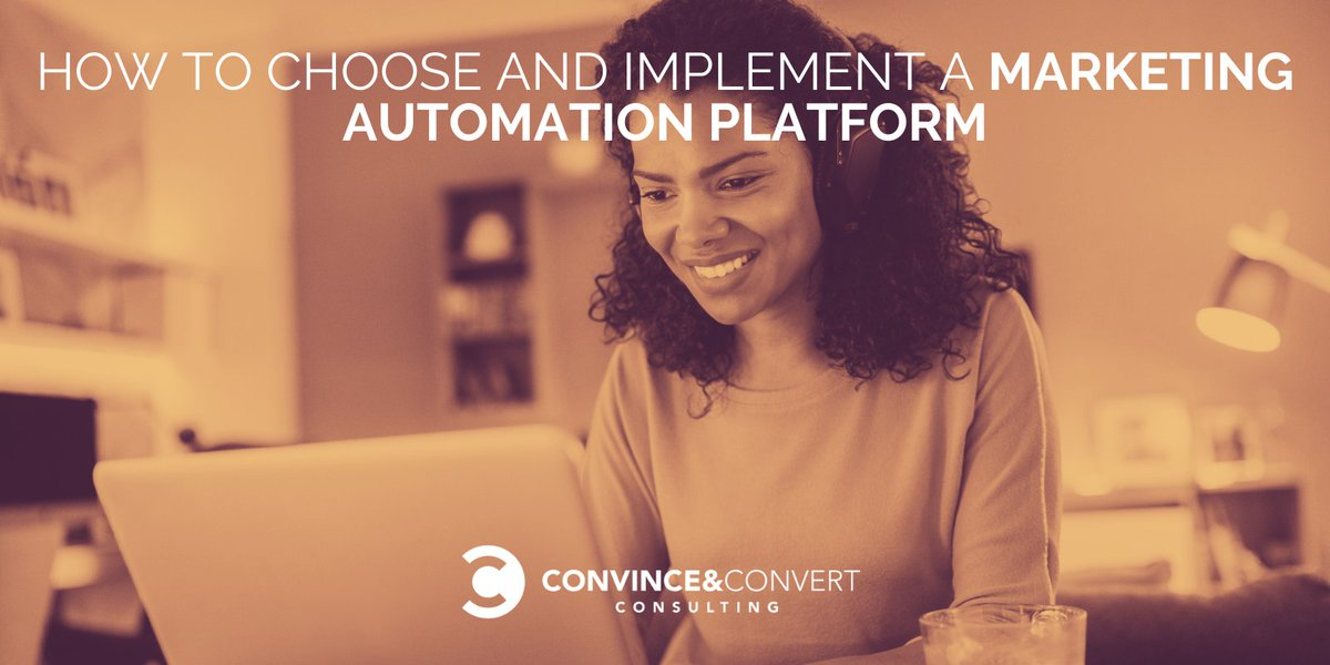 How to Choose and Implement a #Marketing #Automation Platform bit.ly/31tljl3