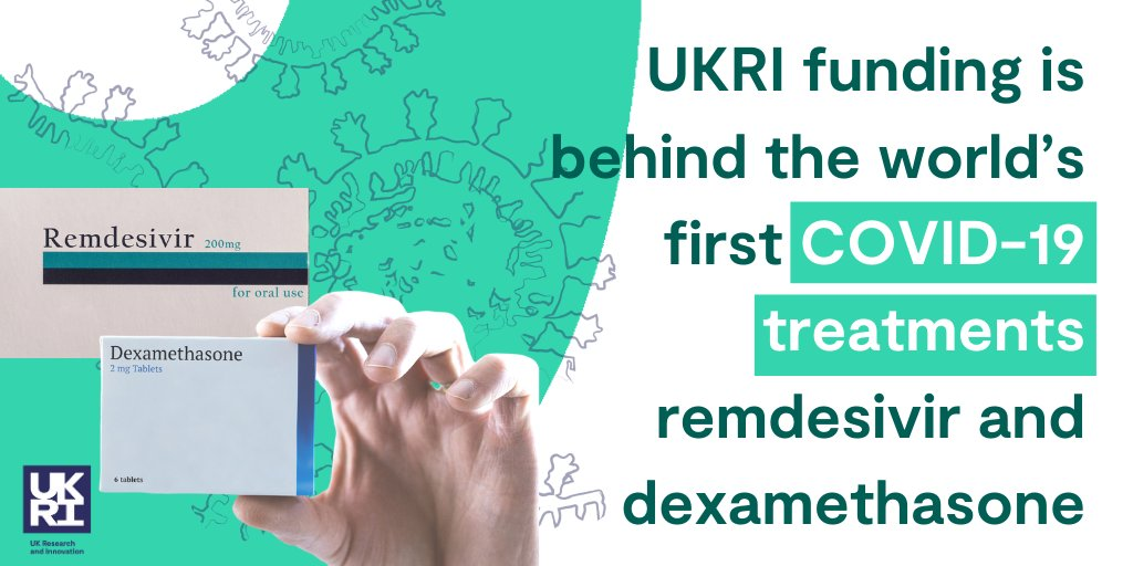 .@FionaWattMRC: 'It is very important that we test potential therapies in randomised clinical trials so that we can find out whether re-purposed drugs work or not.'  UKRI funding is helping researchers identify the best drugs to tackle #COVID19. #WeAreUKRI https://t.co/IntjrHAWLu https://t.co/Gv5BZCMEjM