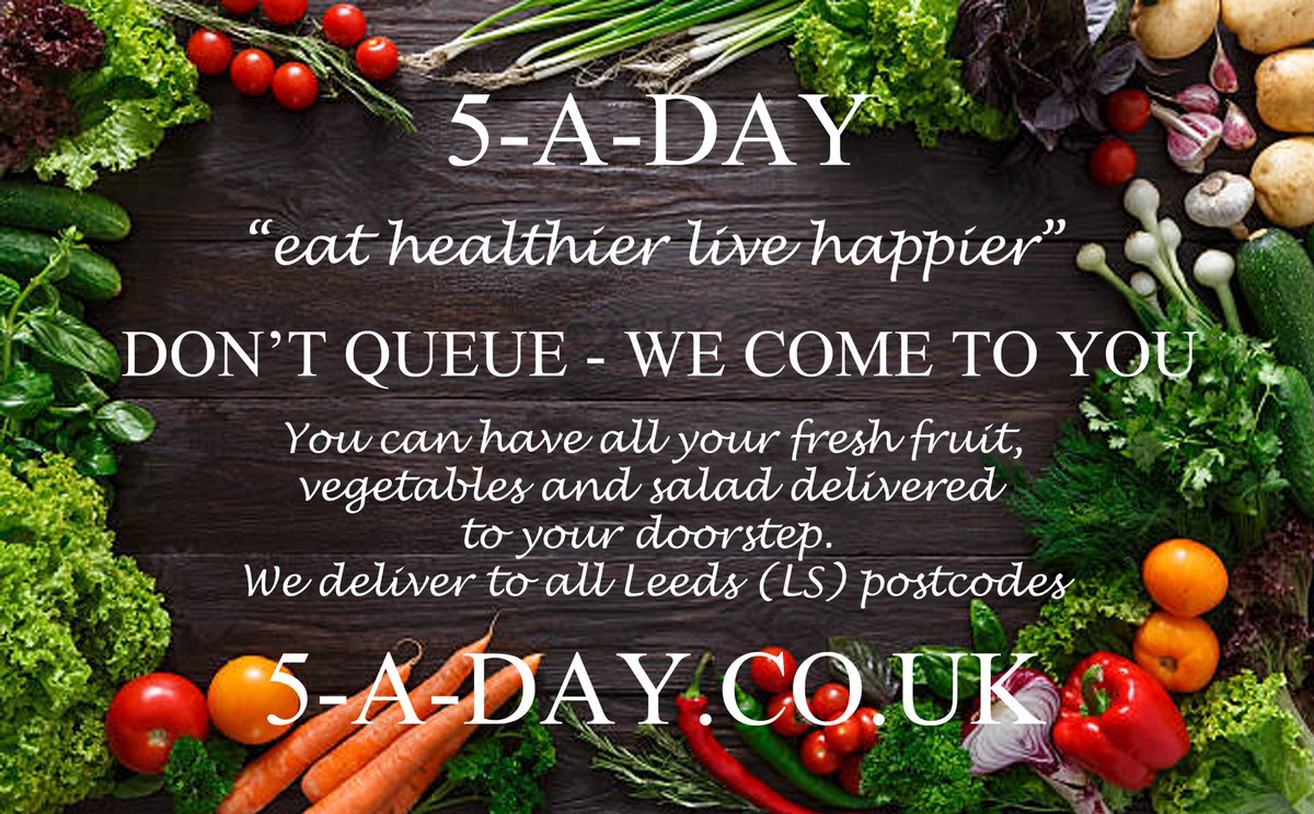 Not only do you beat the queue, we get stuck in the traffic for you (win win) 🚦🥑🚦🍇🚦🥬🚦 #Leeds #5-A-DAY #delivery #fruit #veg #traffic #queue #veggie #vegan #smoothie #soup #win #winwin #local #LS #doorstop #fruitbox #5-a-day.co.uk #homedelivery #fresh #produce #mango #kiwi https://t.co/IWzqzG6vvo