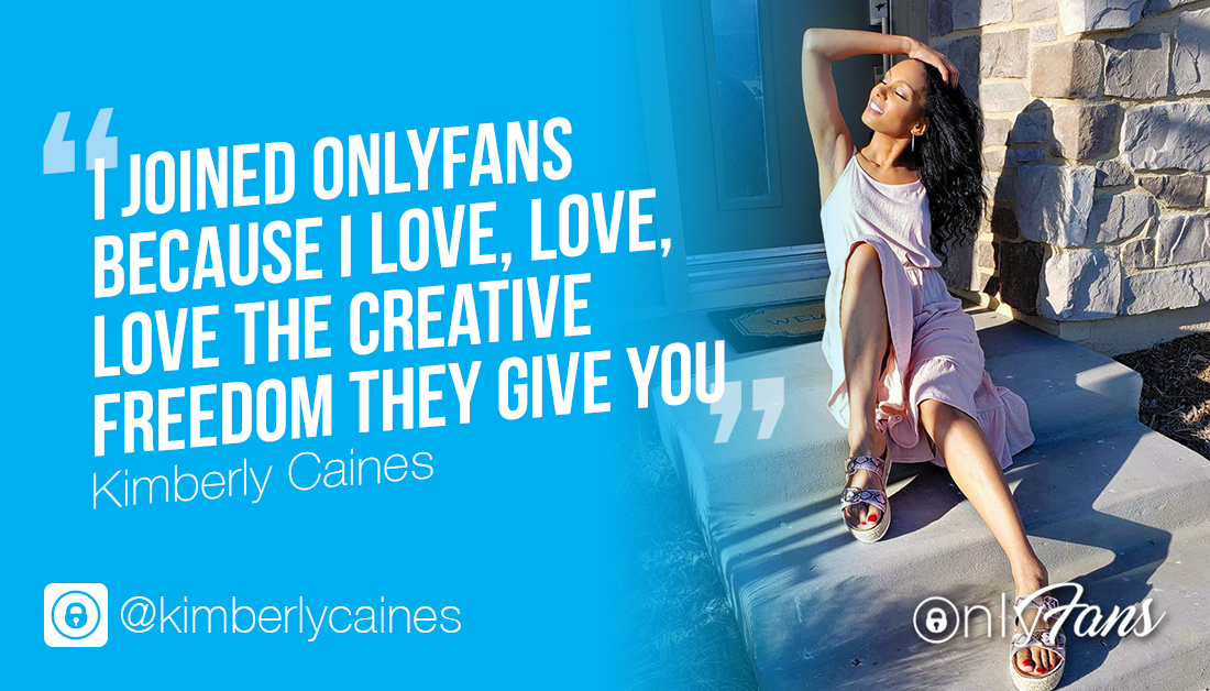 """""""I joined OnlyFans because I love, love, love the creative freedom they give you."""" - We are so pleased that you are enjoying your time on the platform @KimberlyCaines. To see more of the content that Kimberly is posting to her OnlyFans, check it out here: https://t.co/I0jQdMg8gy https://t.co/maEVM4qNuN"""