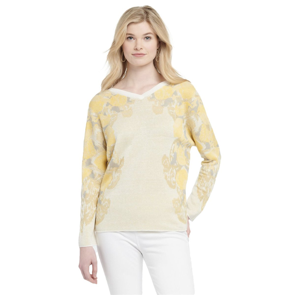 Lemons Summer Sweater by NIC+ZOE, 1X 2X, front-to-back reversible!   Shop here: http://bit.ly/3gArSqn  The first person to use discount code H3RS9YYWTM26 at checkout will get HALF OFF.  #plussize #curvywomen #womensfashion #fashion #bodypositive #plussizefashion #NIC+ZOEpic.twitter.com/e06jiLrzHn