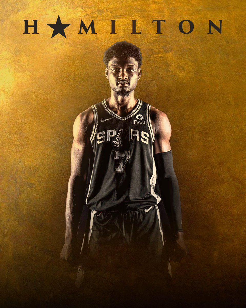 With @HamiltonMusical streaming now on Disney+, its safe to assume what @Chimezie_Metu will be watching this weekend 🍿 #GoSpursGo | #Hamilfilm