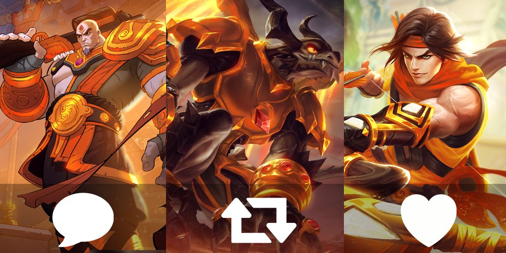 Two days ago, we announced three new golden skins are coming to Paladins! When Radiant Stars releases, which one are you looking forward to unlocking first? 🤔