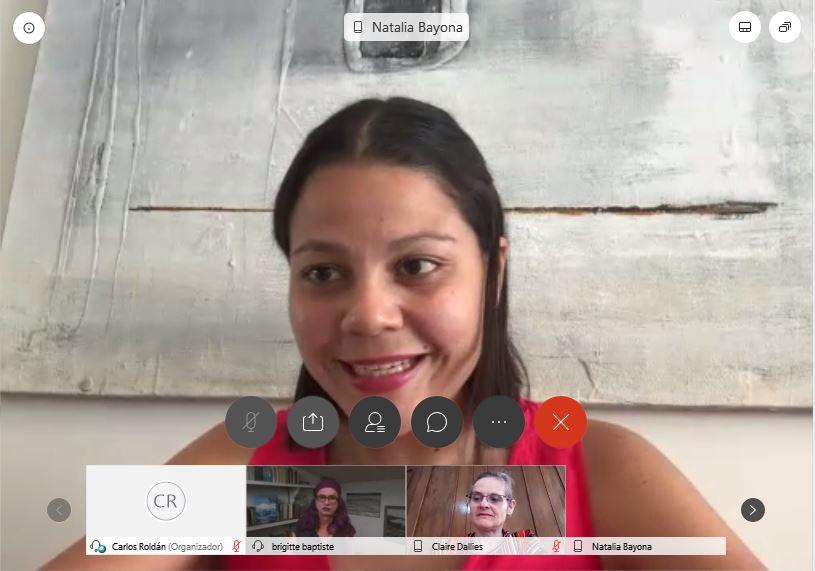 Participando en presentación de @NataliaBayona en el webinar Turismo sostenible y transformación digital: claves para la reinvención del sector, organizado por @UniversidadEan #Turismo   @Brigittelgb https://t.co/Xn6fczoNOu