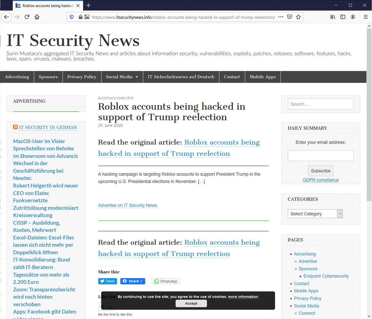 @kanishkT23 @dannysullivan @SwiftOnSecurity It gets better. This site consistently is on the first page of google and just has links to other stories. This is a mess